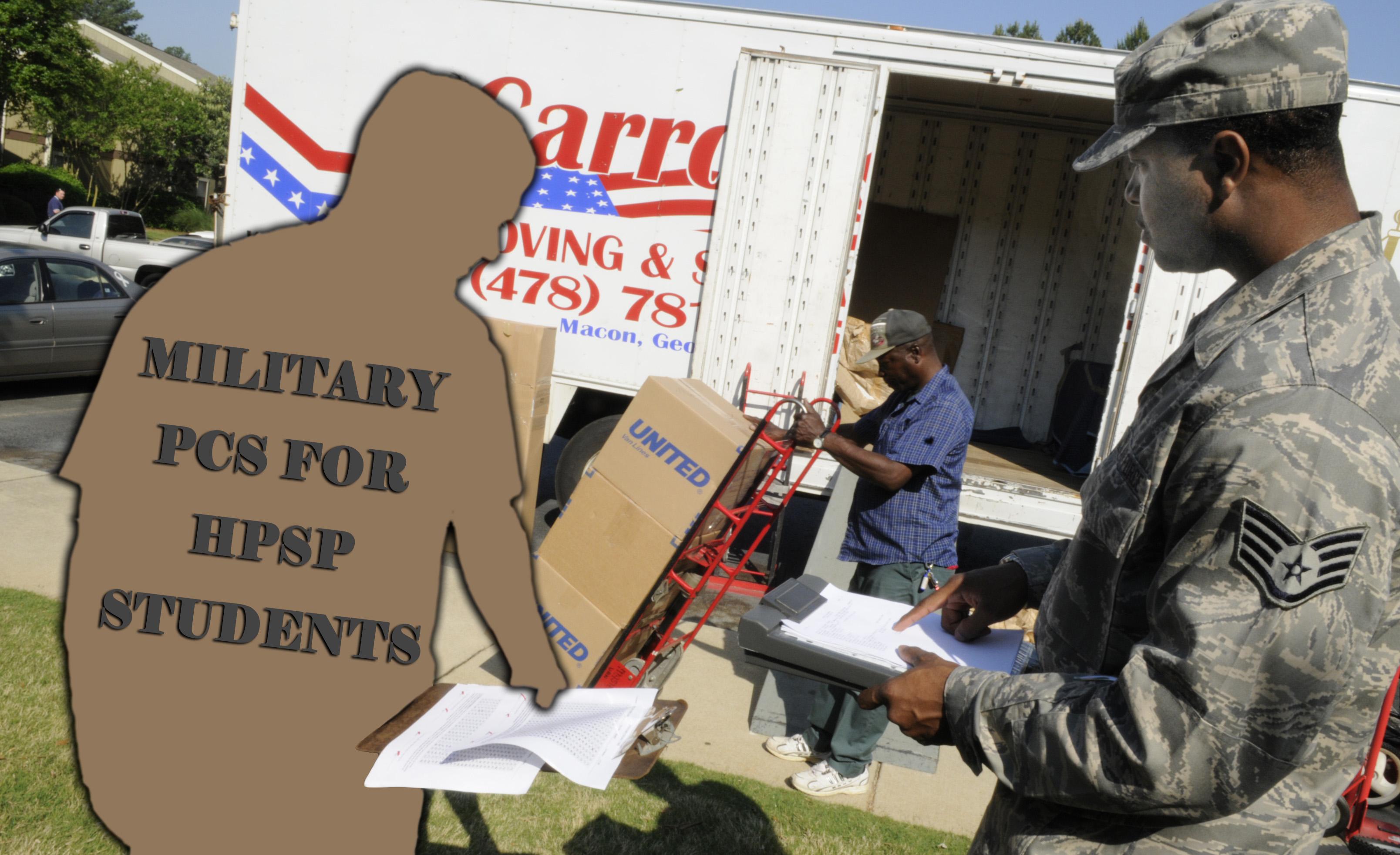 HPSP Military Move PCS